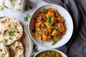 Curry Madras met kip